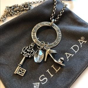 SILPADA IT'S A GIRLFRIEND THING NECKLACE